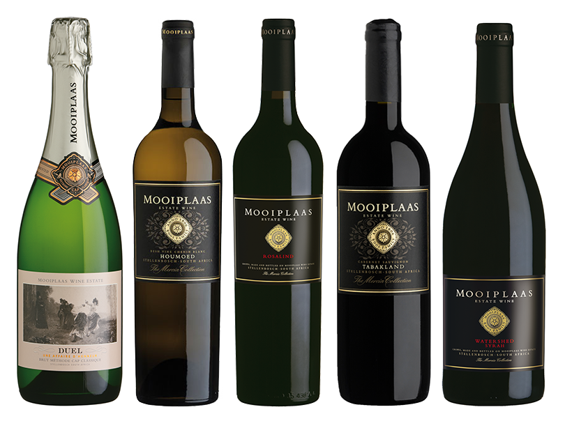 mooiplaas-wine-collection